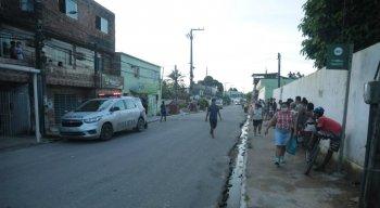 O duplo homicídio aconteceu no Alto da Bondade, em Olinda
