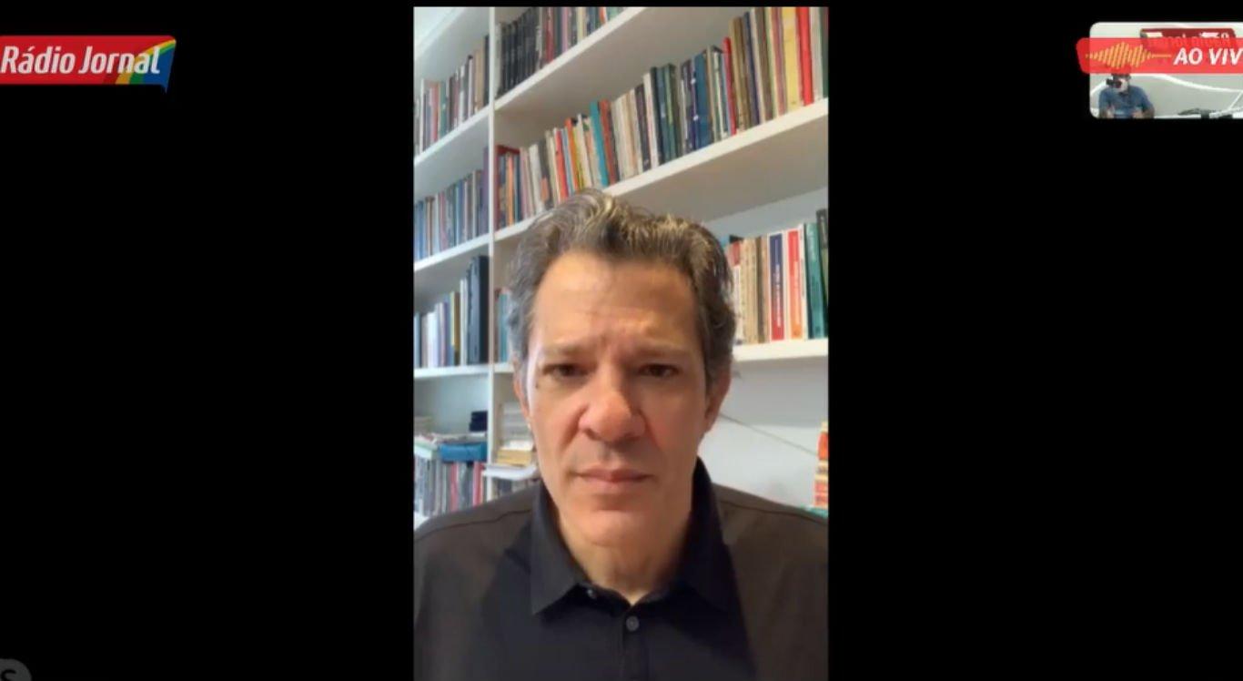 Entrevista com o ex-prefeito de São Paulo, Fernando Haddad