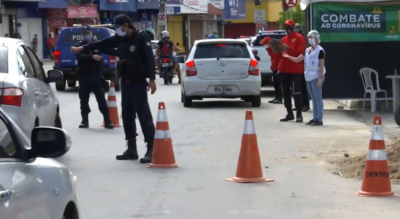 Barreiras sanitárias foram intensificadas em Caruaru