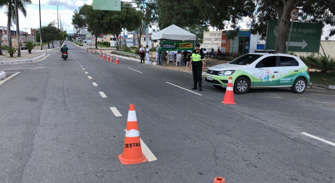 Prefeitura de Caruaru inicia ampliação de barreiras sanitárias