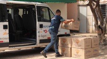 Instituto JCPM doa EPI para Hospital Barão de Lucena