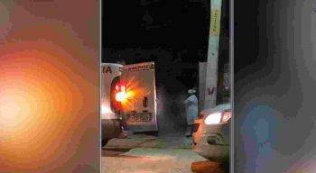 A adolescente foi levada para uma Unidade de Pronto Atendimento (UPA) e depois transferida para o Hospital da Restauração