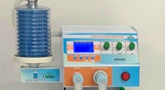 Respirador pulmonar da Bioex recebido pela Prefeitura de Iguaracy