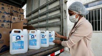 Produtos de higiene foram entregues para o Imip pela campanha Atitude Cidadã