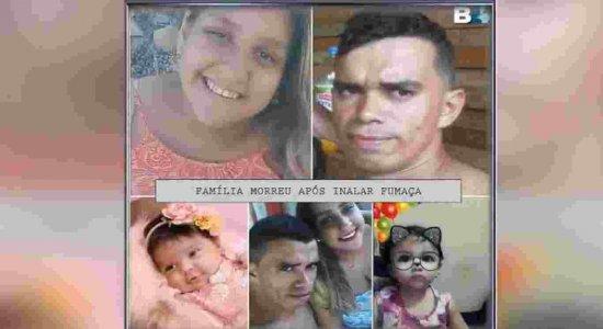 Casal e filhas de 3 meses e de 2 anos morrem em incêndio no Agreste