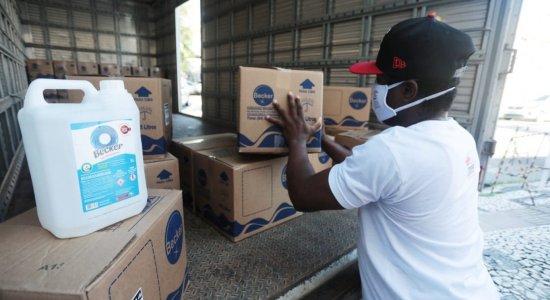 Atitude Cidadã: Fundação Terra e hospitais recebem toneladas de doações