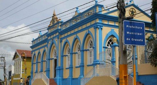 Sede da Prefeitura de Gravatá, no Agreste de Pernambuco