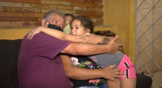 Maria Eduarda, 6 anos, não morreu porque estava com os avós