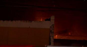 Incêndio atingiu agência dos Correios na Encruzilhada
