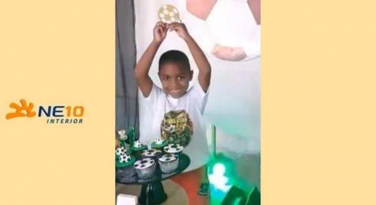 Miguel Otávio Santana Silva, de cinco anos, morreu ao cair do nono andar de um prédio de luxo
