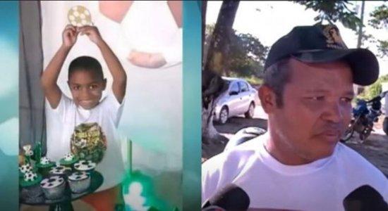 ''Por que deixou o menino só?'', questiona o pai de criança que morreu após cair de prédio no Recife