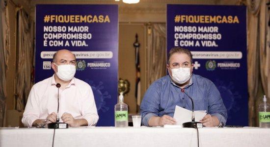 Pernambuco totaliza 81.382 casos de coronavírus e soma 6.152 mortes
