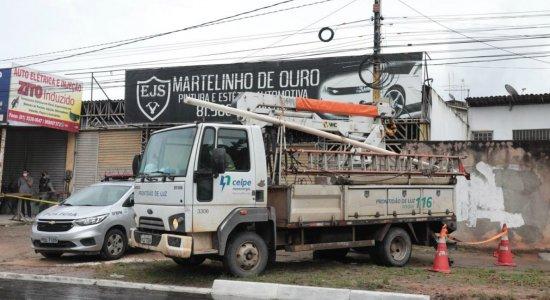 Homem morre eletrocutado com um dos fios preso na boca em Paulista