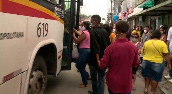 A promessa do Governo de Pernambuco para evitar aglomerações não foi possível ser cumprida