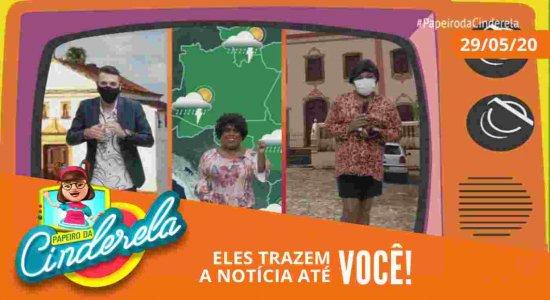 PAPEIRO DA CINDERELA - Exibido sexta-feira 29/05/20