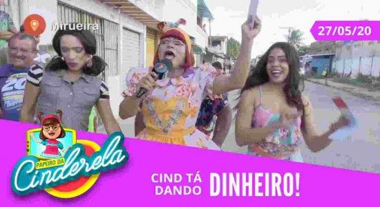 PAPEIRO DA CINDERELA - Exibido quarta-feira 27/05/20