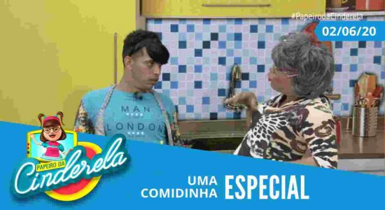 PAPEIRO DA CINDERELA - Exibido terça-feira 02/06/20