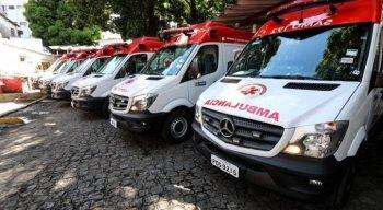 Samu registra aumento de chamados de pessoas com problemas respiratórios no Recife