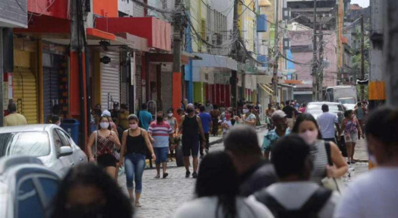 Movimentação no Centro do Recife