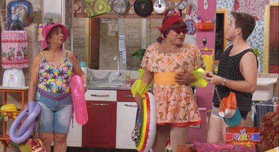 Assista os melhores momentos do 4º episódio de 'Tá Puxado' com participação de Pedro Malta