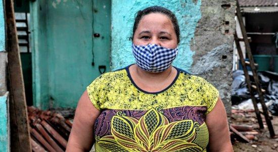 A dona da casa, a confeiteira Marciana Batista