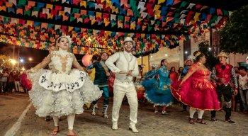Festa de São João em Itaúna, distrito rural de Caruaru
