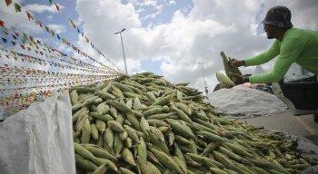 Expectativa do Ceasa em que as venda de milho diminuam por causa do coronavírus