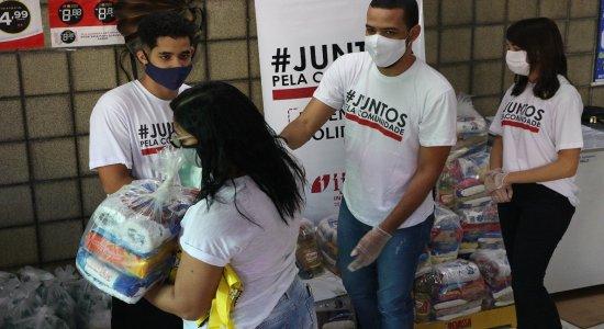 Ação do Instituto JCPM distribui cestas básicas e estimula economia