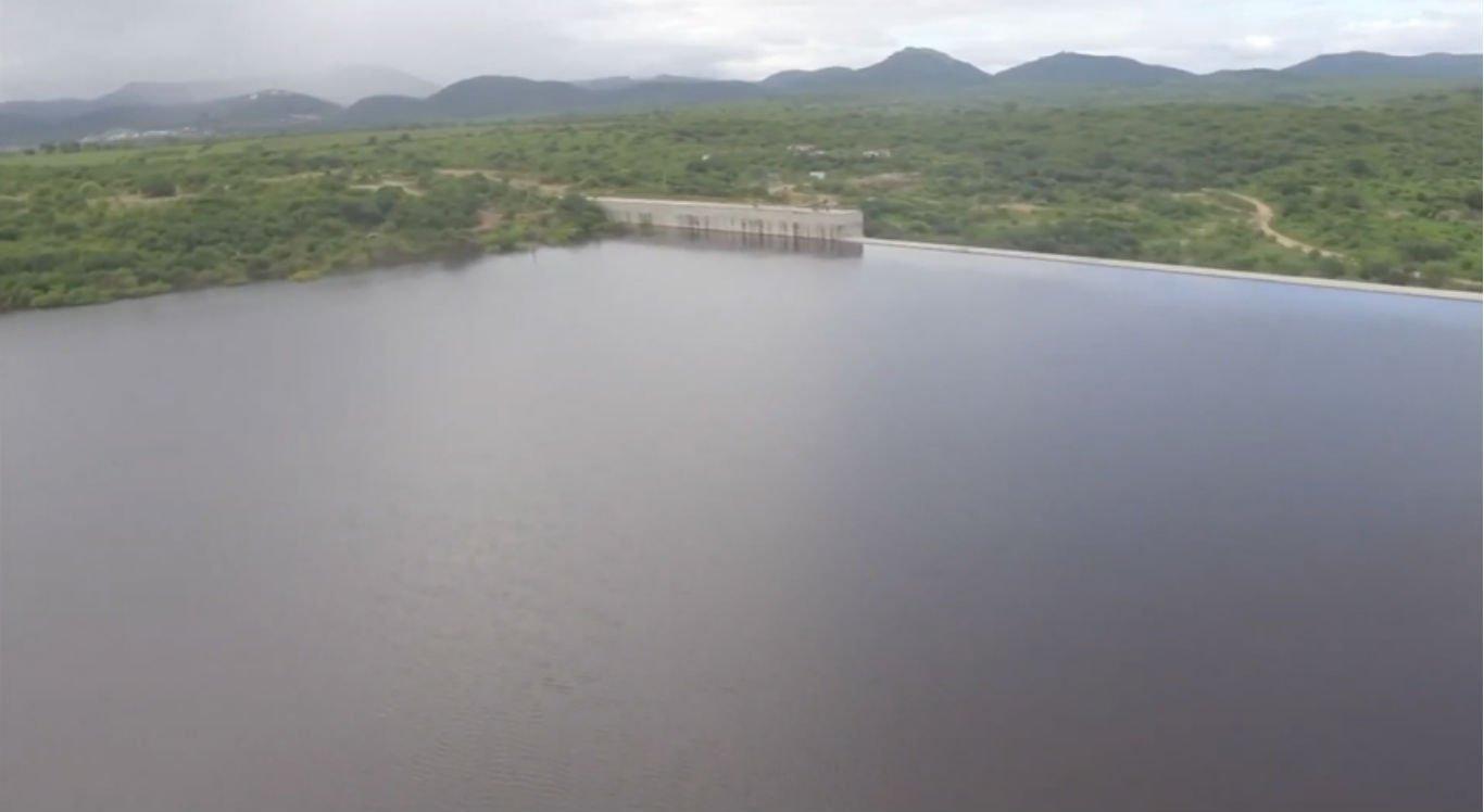 Barragem Pedro Moura, em Belo Jardim, está próxima de verter