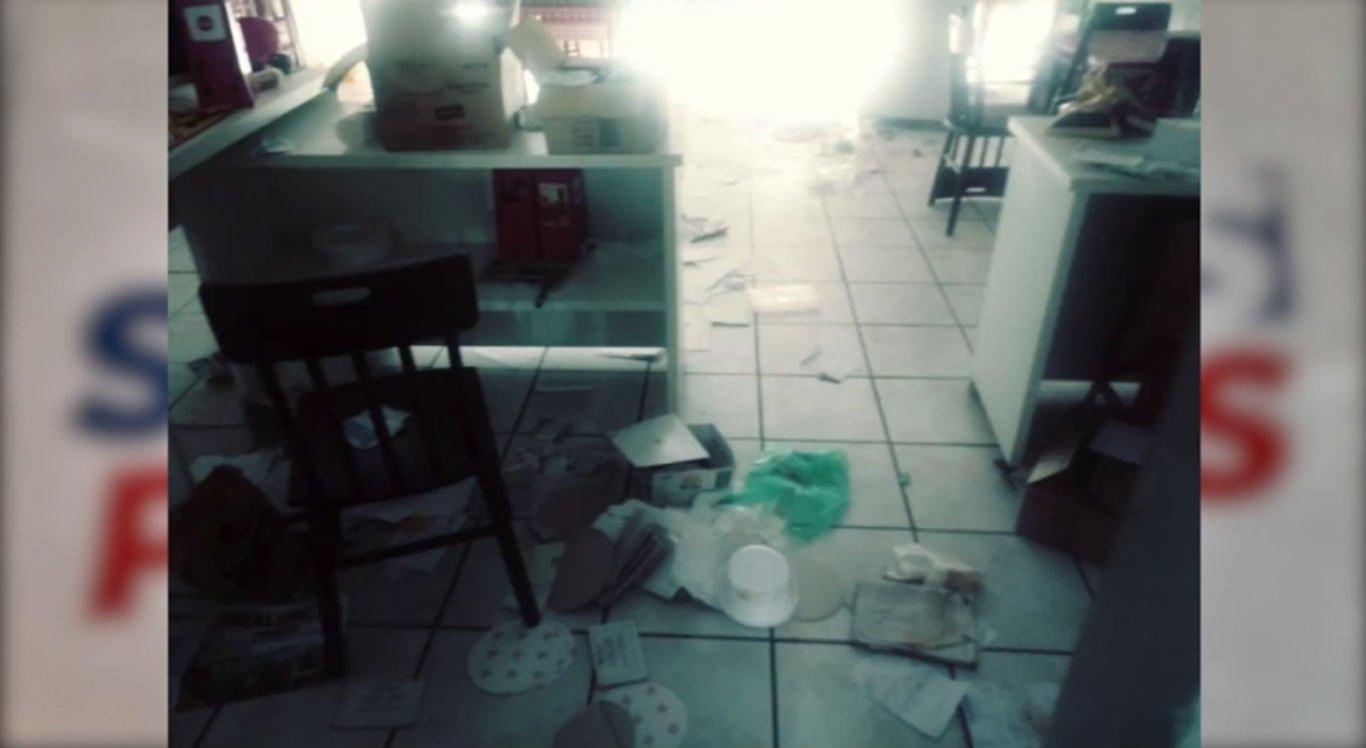 Restaurante foi arrombado e vários equipamentos foram roubados