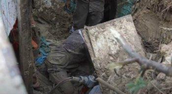 Deslizamento de barreira em Camaragibe aconteceu em junho de 2019