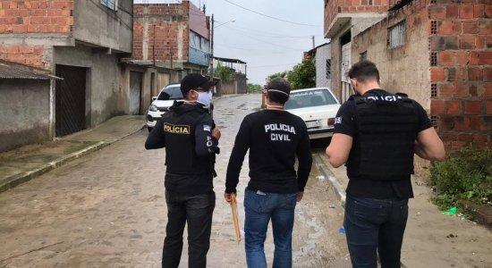Polícia faz operação em Caruaru
