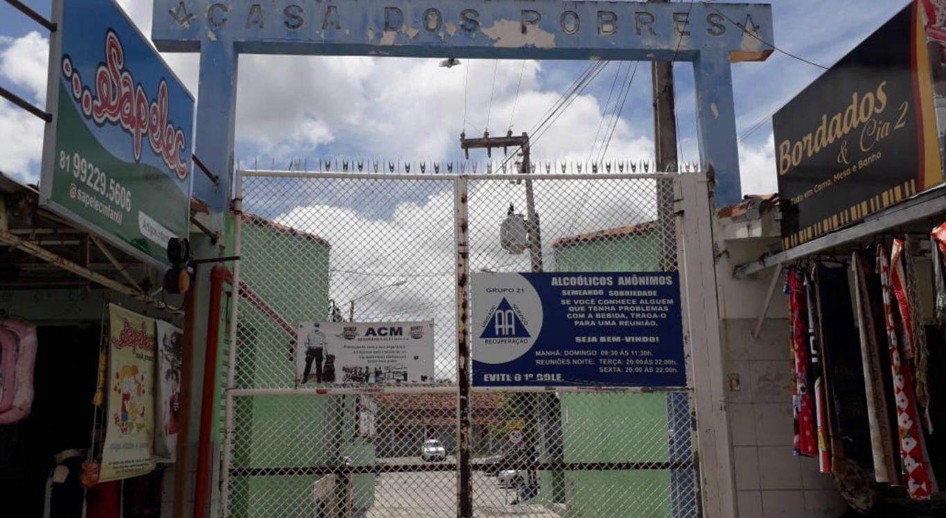 Casa dos Pobres, em Caruaru, já perdeu cinco idosos para a covid-19