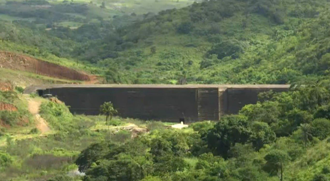 Barragem de Panelas 2, localizada em Cupira, no Agreste pernambucano