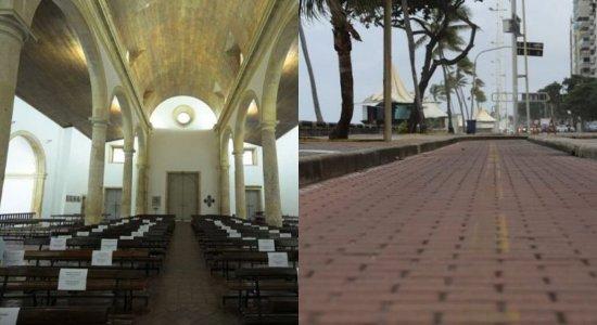 Prefeitura de Olinda libera templos religiosos e atividades físicas nas praias, calçadões, ciclovias e parques