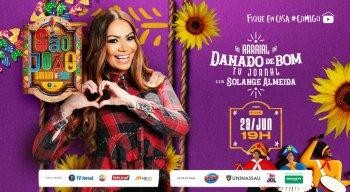 Live com Solange Almeida vai animar véspera de São João