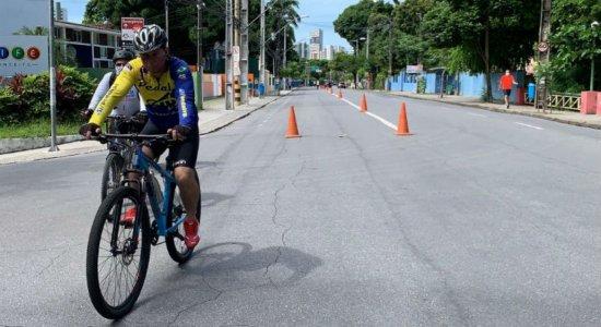 Após liberação, atividades na Ciclofaixa de Turismo e Lazer do Recife são retomadas neste domingo (21)