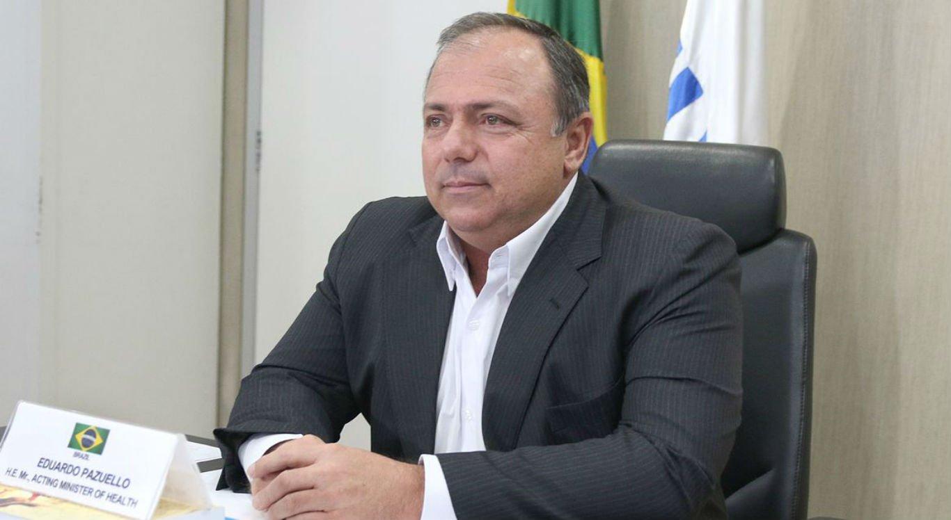 Eduardo Pazuello é ministro interino da Saúde há mais de um mês