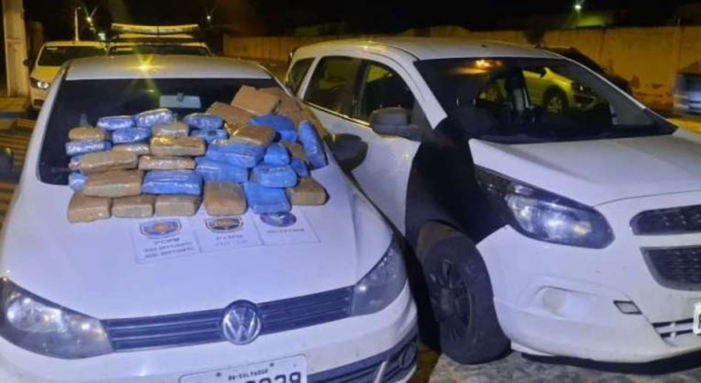 Polícia apreende mais de 58 quilos de maconha em Cabrobó