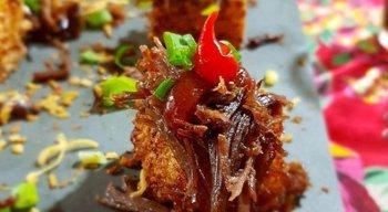 Chef preparou várias ficas e truques, além de opções de combinações para charque e carne de sol. Vote na sua opção preferida.