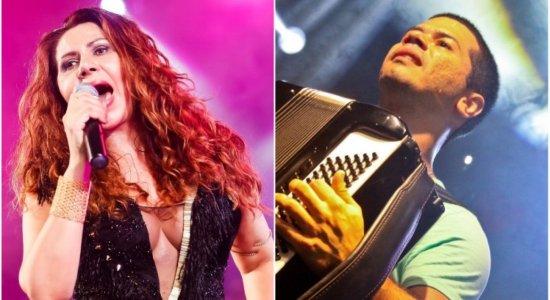 Cristina Amaral e Dudu do Acordeon se juntam em live junina na Rádio Jornal