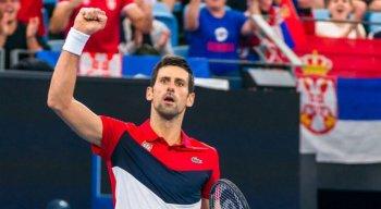 Novak Djokovic é o atual número 1 do tênis.