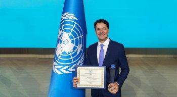 O Prefeito Anderson Ferreira (PL) também recebeu prêmio da ONU em 2019