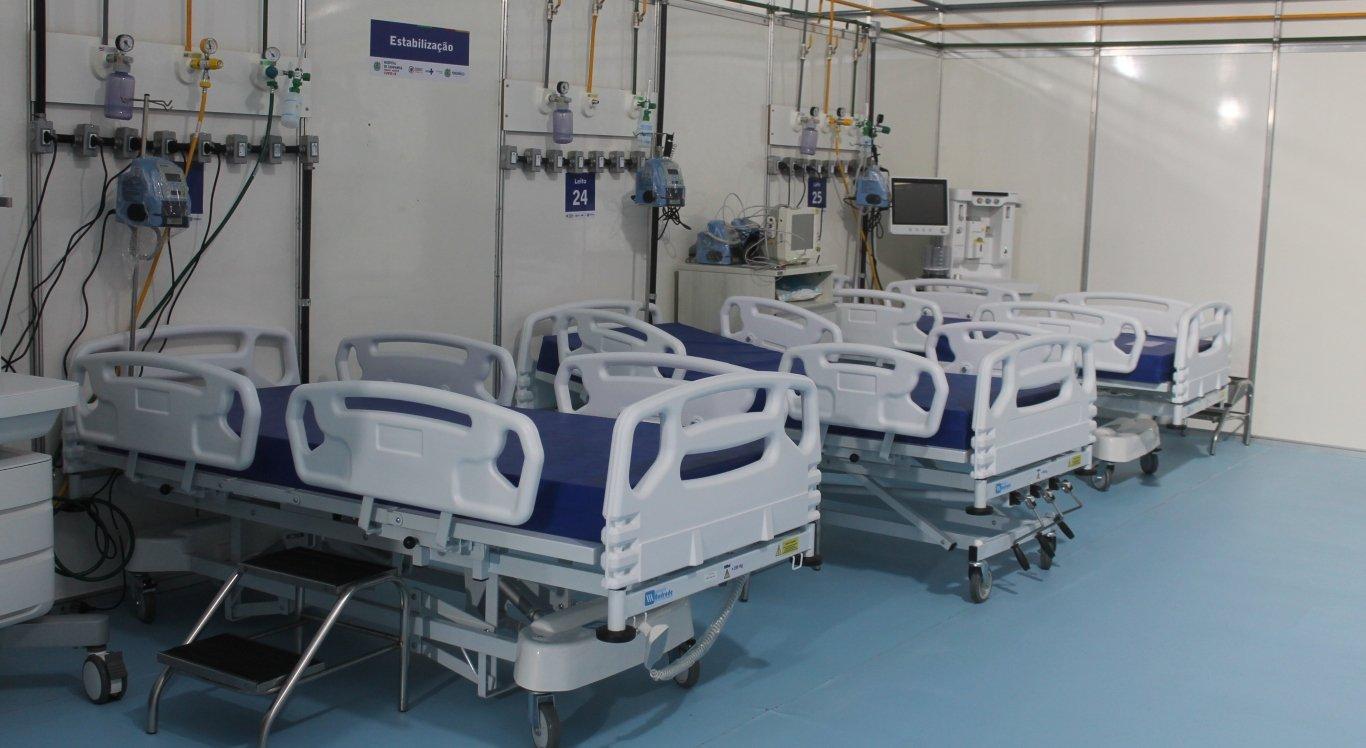 Hospital de Campanha de Caruaru inaugura mais seis leitos de UTI