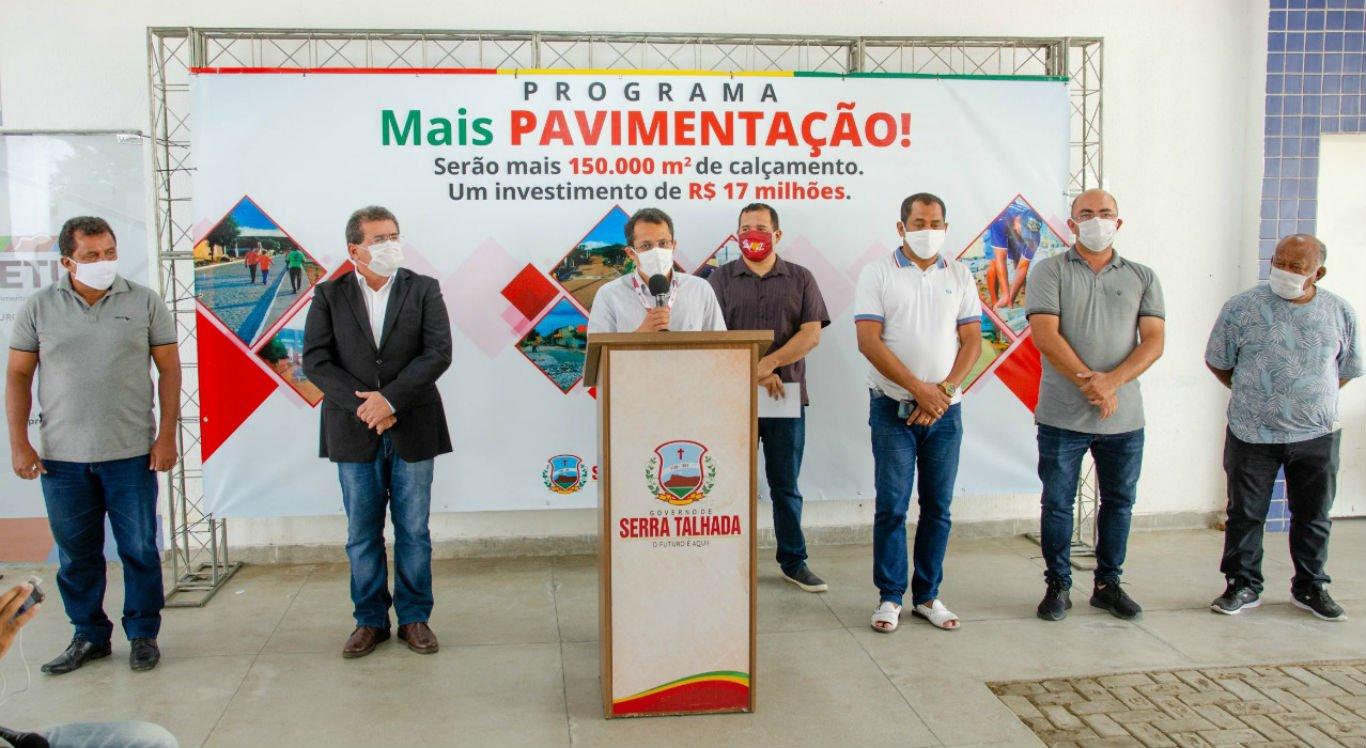 Coletiva de imprensa da Prefeitura de Serra Talhada