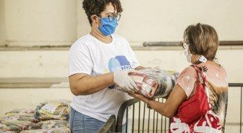 A entrega de cestas básicas acontecerá entre quatro a nove dias