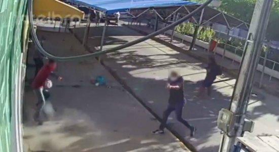 Vídeo: policial militar é morto em frente a lotérica no Agreste de Pernambuco
