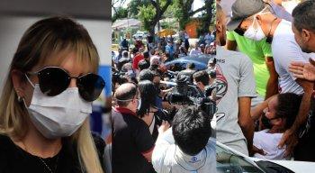 Sarí Corte Real prestou depoimento sobre a morte do menino Miguel Otávio Santana da Silva