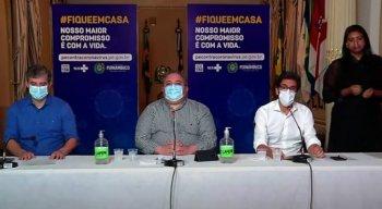 O anúncio foi feito em coletiva do Governo de Pernambuco
