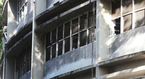 Incêndio atinge UTI do Hospital Agamenom Magalhães